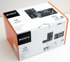 SONY A6000 Mirrorless Digital Camera Double Zoom Lens Kit Black Japan Model