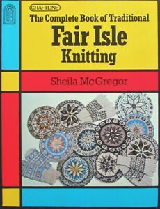 2x Knitting Book  Traditional Fair Isle Knitting/Charts for Colour Knitting-ZW41