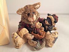 Boyd'S Bearstone - Cookie The Santa Cat - Christmas - #2237 - Mint - Z1046