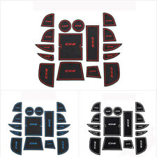 For Mazda CX-5 13-14 Non-slip Car Interior Door Slot  Rubber Cup Holder Pad Mat