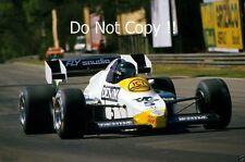 Jacques Laffite Williams FW09 Belgian Grand Prix 1984 Photograph
