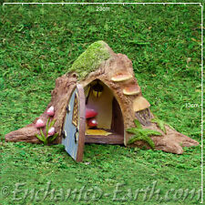 Vivid Arts Miniature World Opening Fairy Garden Tree Trunk Fairy Door - 23cm