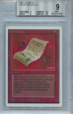 MTG Unlimited False Orders BGS 9.0 (9) Mint Card Magic WOTC 9938