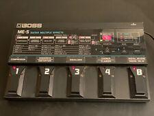 Multieffektgerät Boss ME-5 für E-Gitarre -  Schwarz