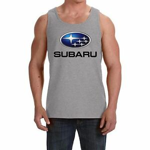 Subaru NEW Men's Tank Top Vest - Sleeveless t-shirt  print by EPSON