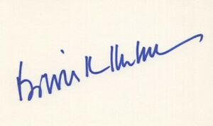 Bowie Kuhn - Commissioner of Major League Baseball - Signed 3x5 Index Card