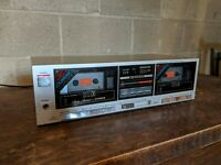 Vintage Fisher Model CR-W37 Stereo Dual Cassette Player for Parts/Repair