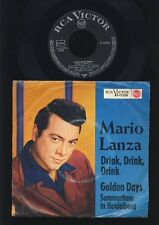 MARIO LANZA-Verre, Verre, Verre-GOLDEN DAYS-Summer... 7 inch-Germany