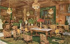Illinois, IL, Chicago, Hotel La Salle, Main Lobby 1910's Postcard