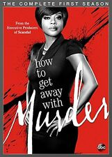 How To Get Away With Murder . The Complete Season 1 . 4 DVD . NEU . OVP