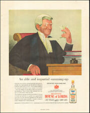 1958 Vintage ad for Booth's House of Lords Dry Gin Art Taylor & Comp.  (090317)