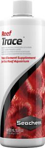 Seachem Reef Trace 500ML Supplies a Broad Range of Trace Elements Marine Tank
