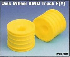 Academy CP338 2wd 1/10 Truck Front Yellow Wheels