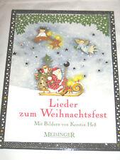 LIEDER zum Weihnachtsfest ►►►UNGELESEN ° mit Bildern von Kerstin Heß °