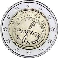Litauen 2 Euro Münze 2016 bfr Gedenkmünze die Baltische Kultur