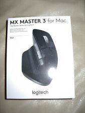 Logitech - MX Master 3 Wireless Laser Mouse for Mac - Space Gray