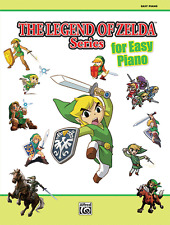 """THE LEGEND OF ZELDA SERIES"" EASY PIANO MUSIC BOOK-BRAND NEW ON SALE SONGBOOK!!"