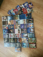 36 DVD (Blu-ray) EMPTY CASES W/ 6+ ARTWORK - NO DISKS - Some W/ Papers Inside