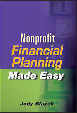 NEW Nonprofit Financial Planning Made Easy by Jody Blazek