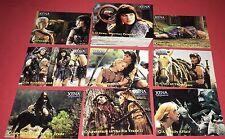 2001 XENA WARRIOR PRINCESS SEASONS 4 & 5 TRADING 72 CARD SET BY RITTENHOUSE MT
