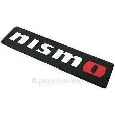 Nismo 99993-RN211 Logo Metal Emblem Black Badge Genuine Part JDM