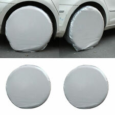 4 Pcs 28'' Heavy Duty Car Tire Covers For RV Truck Trailer Camper Motorhome