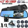 "4.3"" HD 1080P Dual Lens Car DVR Front and Rear Camera Video Dash Cam Recorder 17"