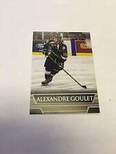 2014-15 Alexandre Goulet Charlottetown Islanders Hockey Card