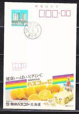 Japan 1983 mint unposted postal card Lemon JP013