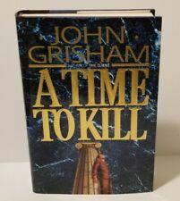 A TIME TO KILL  John Grisham  FIRST EDITION  1993  HCDJ  13579108642