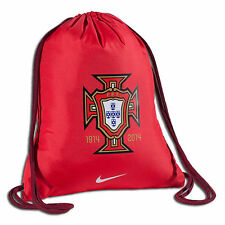 Nike Portugal World Cup Soccer Shoe Sack Gym Pack Fitness Bag Red
