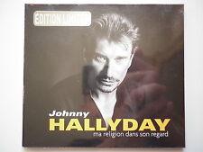 Johnny Hallyday cd single digipack Ma Religion Dans Son Regard
