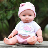 Baby Emulated Doll Soft Children Reborn Baby Doll Toys Boy Girl Birthday Gift AU