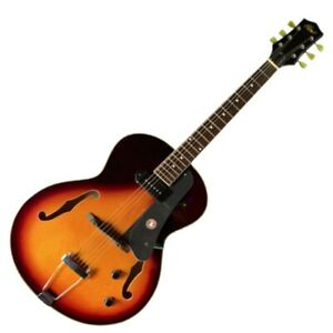 Alden AD-150 Small Body Jazz Guitar - Vintage Sunburst