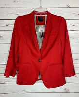 The Limited Women's S Small Red Business Career Jacket Blazer NEW With TAGS $128