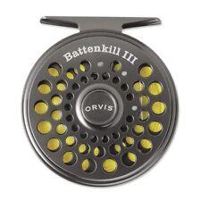 Orvis Battenkill Reel - Switch/Spey - V - Black Nickel w/FLy Line Credit