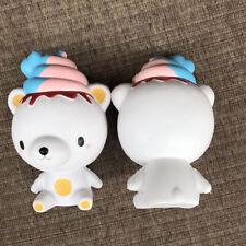 Kawaii iBloom Squishy Ice Cream Bear Poo Squeeze Super Slow Rising Fun Toy Gift