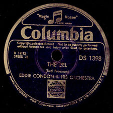 EDDIE CONDON & HIS ORCHESTRA  The Eel / Home cooking   Schellack 78rpm   X1800
