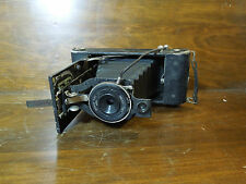 Vintage Ansco Film No. 1A INST Time ILEX Pop Up Camera w/ Cable Release Shutter