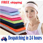 Sweatband Sweat Band cotton Gym Headband Tennis Badminton Sports Yoga Running 1