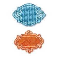 Sizzix Bigz Die With Bonus Textured Impressions Jar Labels by Where Women Cook