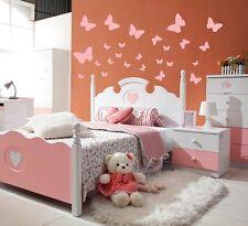 Butterflies Wall Stickers Bedroom Art Butterfly Decal Stikers Name BOYS GIRLS