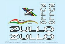 Zullo Bicycle Decals-Transfers-Stickers #1