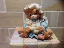 """Calico Kittens 1994 Figurine """"You Make It All Better"""" by Priscilla Hillman  NIB"""