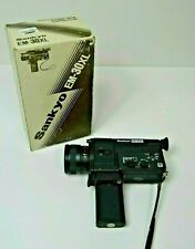 Sankyo EM-30XL Super 8 camera, boxed with instructions excellent - untested