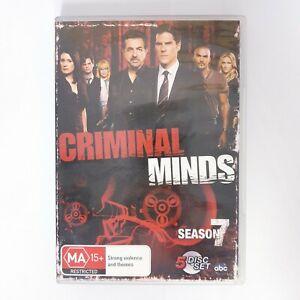 Criminal Minds Season 7 TV Series DVD Region 4 AUS Free Postage