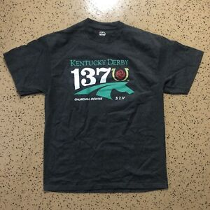 2011 Kentucky Derby 137 Horse Racing Churchill Downs Shirt - Size: XL