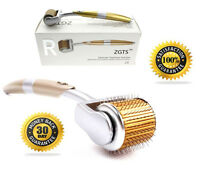 ZGTS® Titanium Derma Roller 1.5mm with Free Travel Case Micro Needle Skin Roller