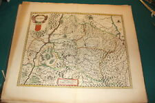 #A66,Handcolored Copper Engraving Map NAVARRA(Spain) @1680-1720
