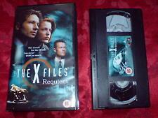 THE X FILES REQUIEM - VHS